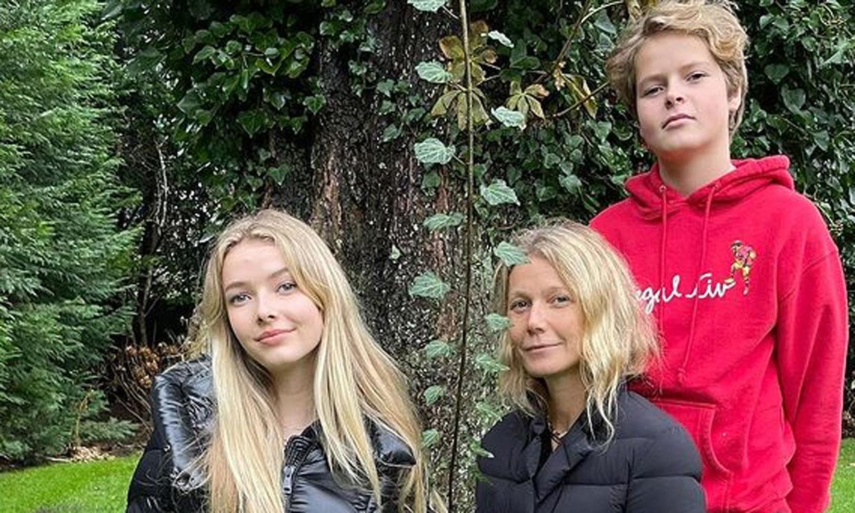 El divertido 'mote' con el que Gwyneth Paltrow felicita a su hijo Moses en su 15 cumpleaños
