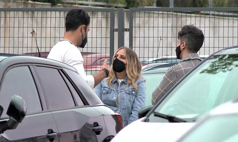 El efusivo reencuentro entre Rocío Flores y su compañero de 'Supervivientes', Jorge Pérez, tras meses sin verse