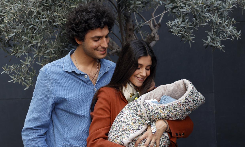 María García de Jaime y Tomás Páramo se llevan por fin a su hija Catalina a casa: 'Todo se quedó en un susto'
