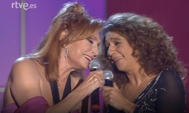 Así vivió Rocío Jurado su último concierto
