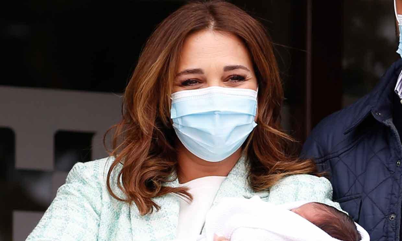 Paula Echevarría muestra su cuerpo cuatro días después de dar a luz