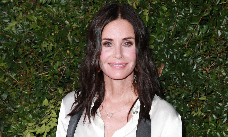 ¿Adivinas en qué se parecen Courteney Cox y Monica, su personaje en 'Friends'?