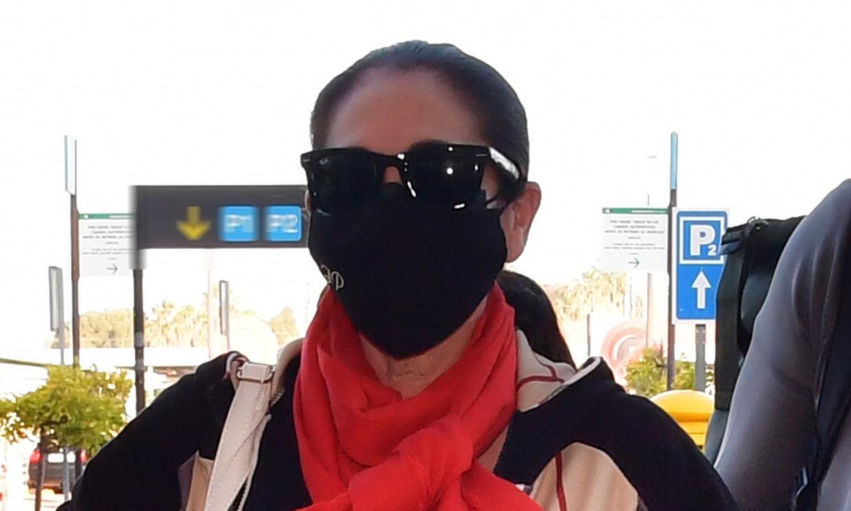 Primeras imágenes de Isabel Pantoja tras más de seis meses de retiro en Cantora