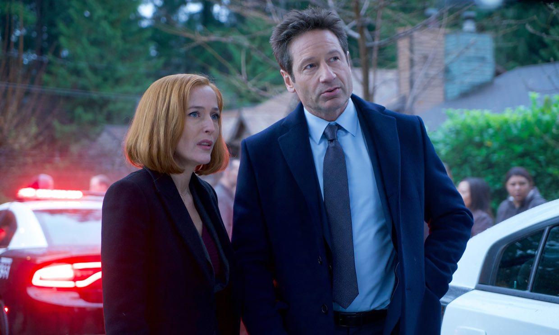 Gillian Anderson y David Duchovny, protagonistas de 'Expediente X', juntos de nuevo