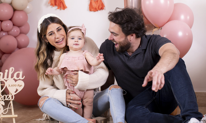 La hija de Elena Tablada cumple un añito ¡y está para comérsela!