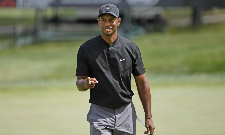 La primera fotografía de Tiger Woods tras su grave accidente de tráfico