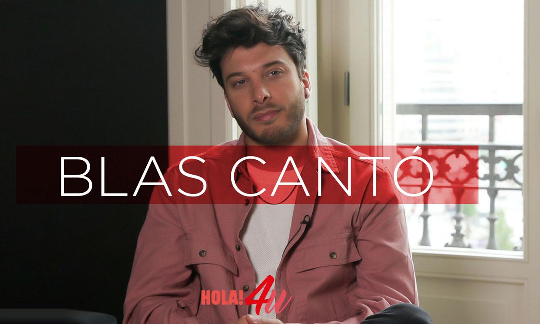 Hablamos con Blas Cantó: 'Sueño con ir a Eurovisión desde que tenía pañales'