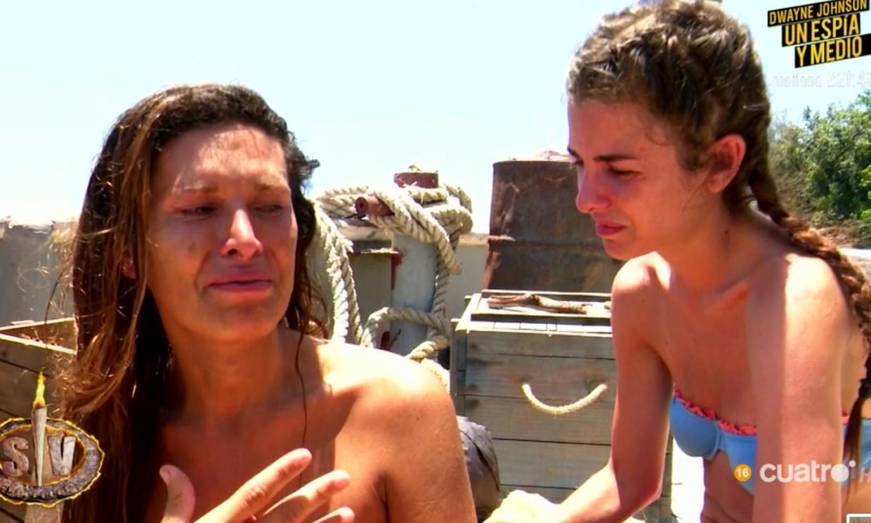 Lara Sajen, hundida tras una brutal discusión con Sylvia Pantoja en 'Supervivientes'