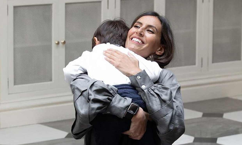 Ana Boyer comparte uno de los momentos más tiernos con su hijo Miguel