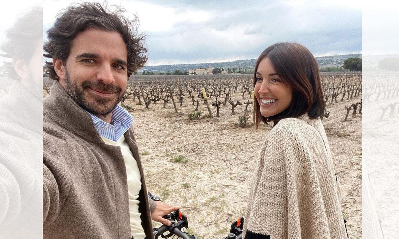 Noelia López y Jesús Benavides, amor entre viñedos