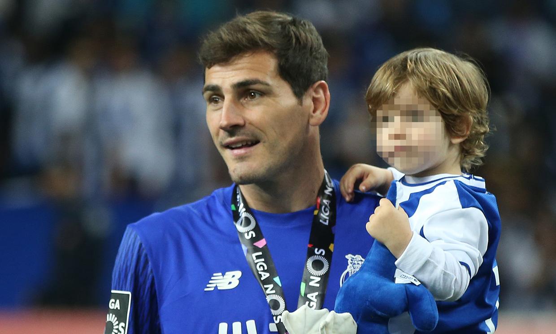 ¿Ya tiene sucesor? Iker Casillas desvela cuál de sus hijos sigue sus pasos