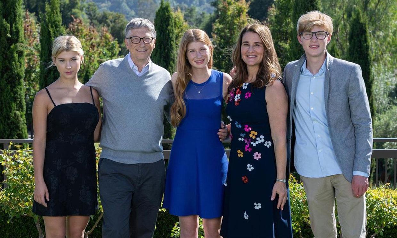 Así son los tres hijos de Bill y Melinda Gates que no heredarán su inmensa fortuna