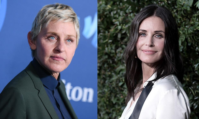 Este es el motivo por el que Ellen DeGeneres se ha mudado a casa de Courteney Cox