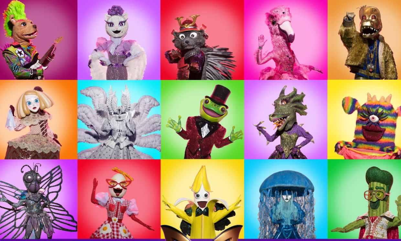 Descubre las primeras pistas de todos los concursantes de 'Mask singer 2'