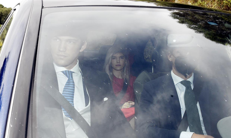 Los hermanos de Alejandra Ruiz de Rato o Pepín Liria, entre los asistentes al enlace