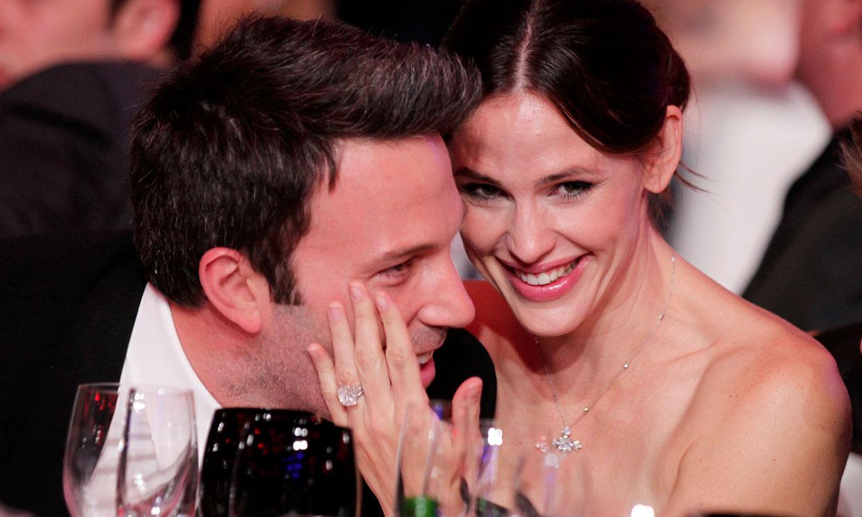 Ben Affleck revive sus días más felices con Jennifer Garner