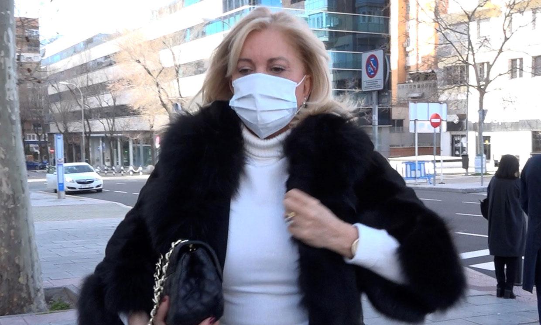 Bárbara Rey vuelve a ser ingresada en el hospital tras superar el coronavirus