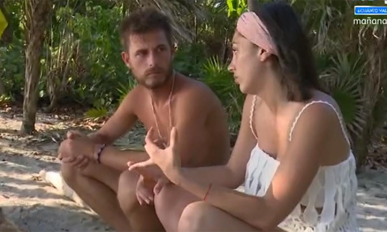 La reacción de Tom Brusse y Melyssa al saber que Sandra Pica se quedará más días en 'Supervivientes'
