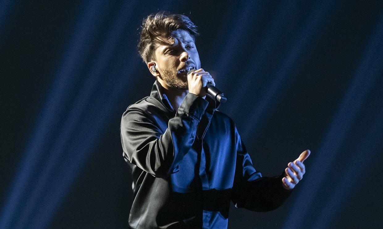 Blas Cantó no puede contener las lágrimas tras su primer ensayo en Eurovisión
