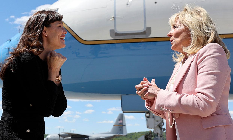 La curiosa amistad de Jennifer Garner con la primera dama de Estados Unidos, Jill Biden
