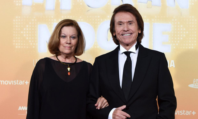 Raphael se rinde a su mujer, Natalia Figueroa: 'Mi familia ha funcionado gracias a ella'