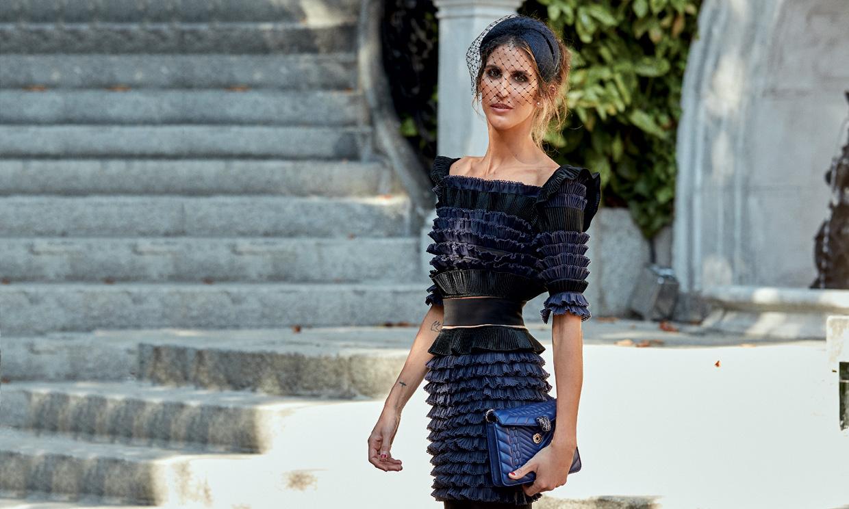 Quién es Inés Domecq, la elegante aristócrata que por primera vez ha vestido a doña Letizia
