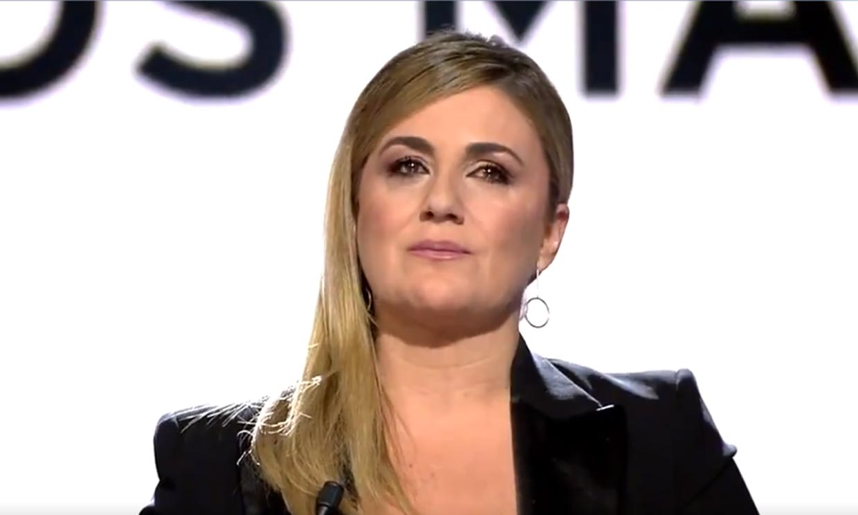 Carlota Corredera habla de la demanda de Antonio David Flores a la productora de la docuserie de Rocío Carrasco
