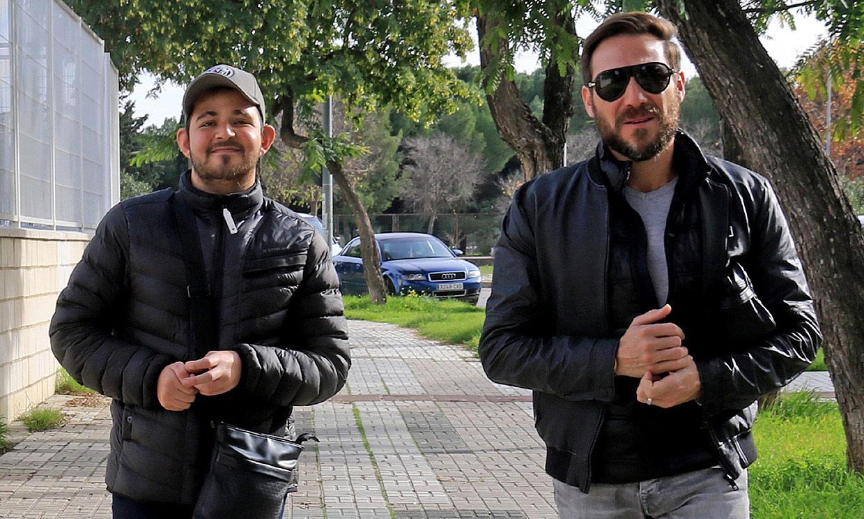 David Flores declara en Málaga tras verse envuelto en la última denuncia de su padre contra Rocío Carrasco