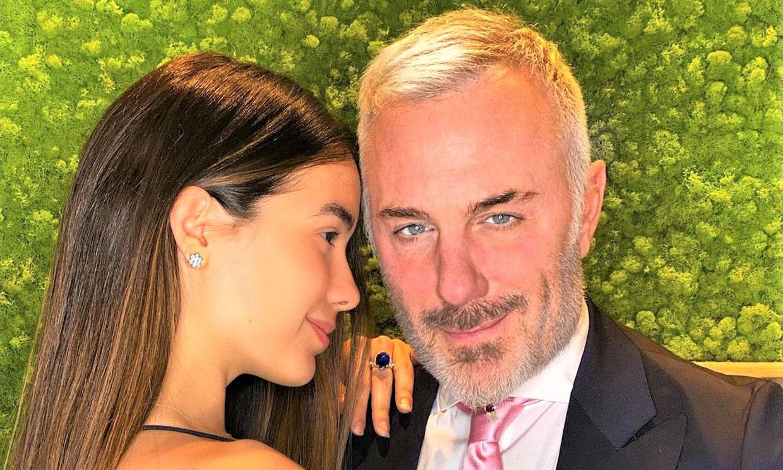 Gianluca Vacchi y Sharon Fonseca protagonizan una escena de telenovela con final inesperado