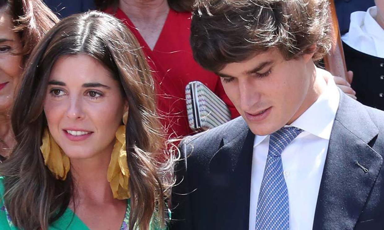 Carlos Fitz-James Stuart y Belén Corsini, una elegante boda al aire libre en los jardines de Liria