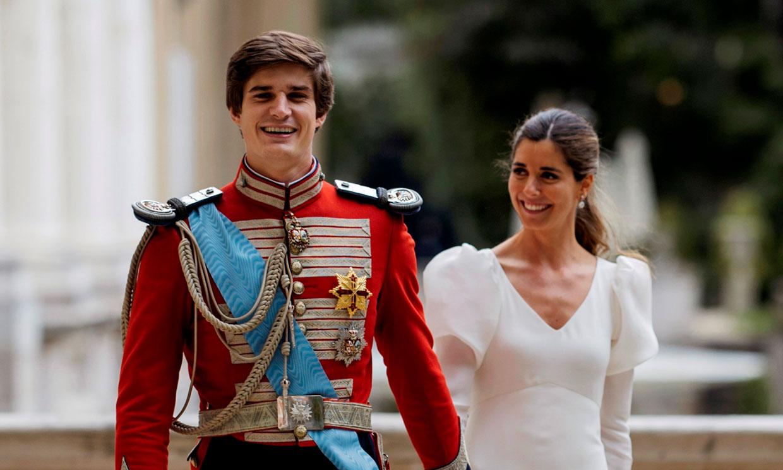 Carlos Fitz-James Stuart se ha decantado por el uniforme degala de la Real Maestranzade Caballería deSevilla