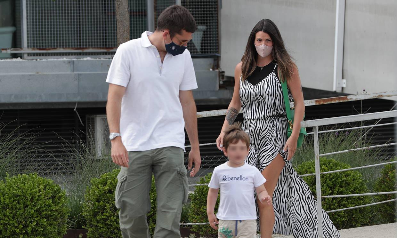 Safari en familia, el 'planazo' de Laura Matamoros y Benji Aparicio con su hijo Matías