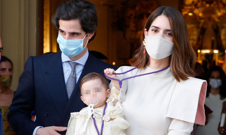El tierno gesto de Rosario, la hija de los duques de Huéscar, en el homenaje a la duquesa de Alba