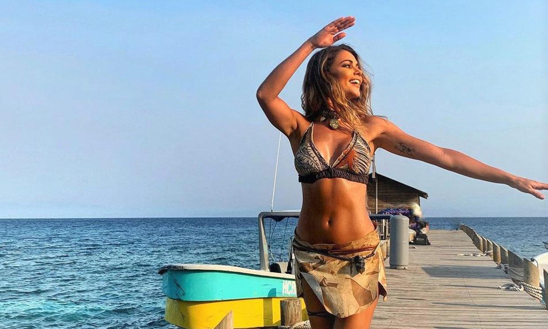 El 'no truco' de Lara Álvarez para estar en forma