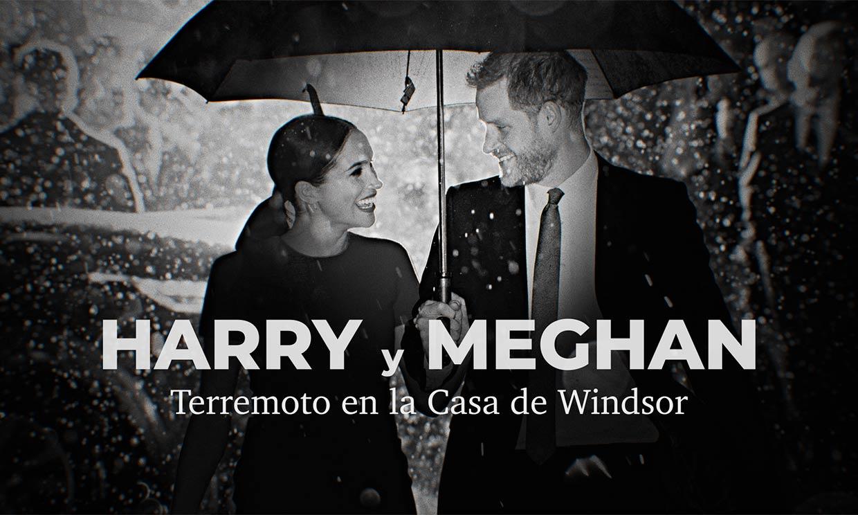 Ya puedes ver el documental 'Harry y Meghan: terremoto en la Casa de Windsor' en Prime Video