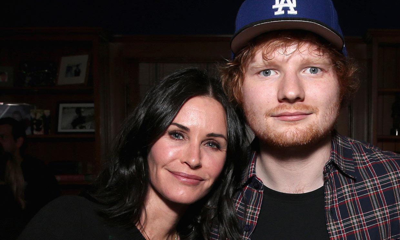 Ed Sheeran se reivindica como bailarín junto a Courteney Cox y la coreografía más conocida de 'Friends'