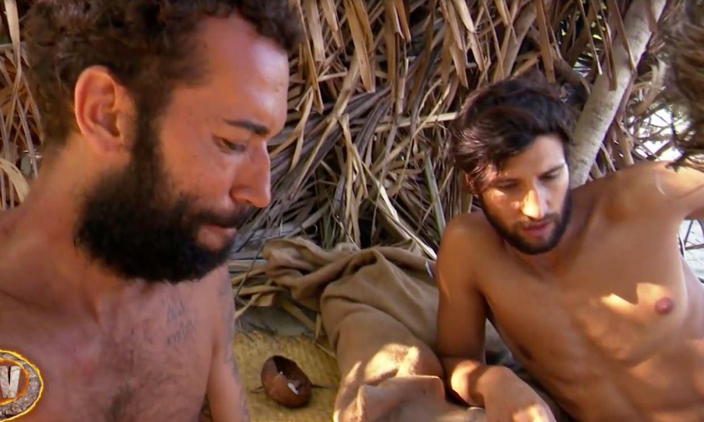 Omar y Gianmarco se retuercen de dolor por la picadura de una araña en 'Supervivientes'