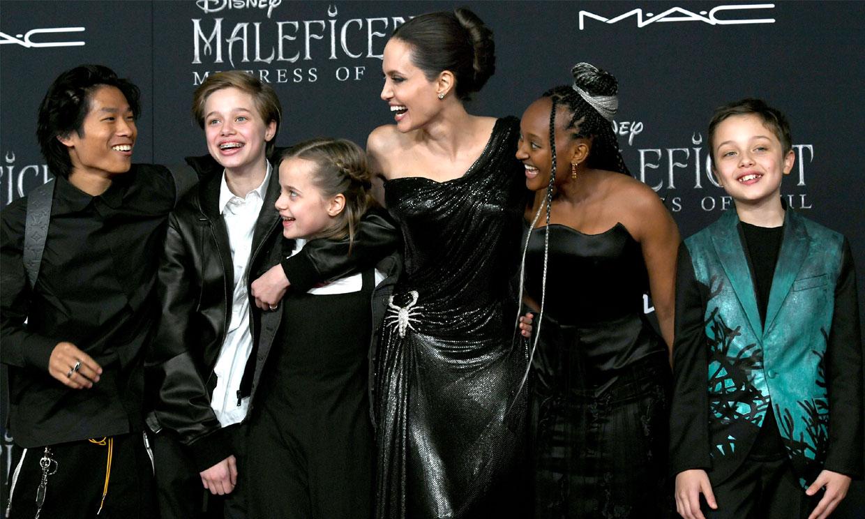 Angelina Jolie, sorprendida por sus hijos en su cumpleaños mientras sigue la batalla con Brad Pitt