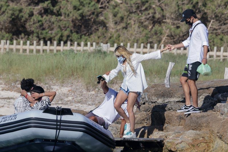 Danna Paola en Ibiza