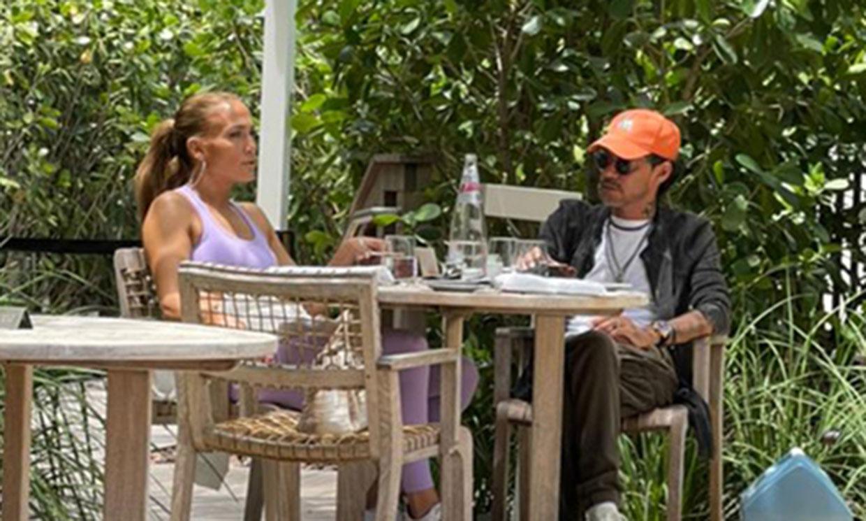 La excelente relación de Marc Anthony con sus ex Jennifer Lopez y Dayanara Torres