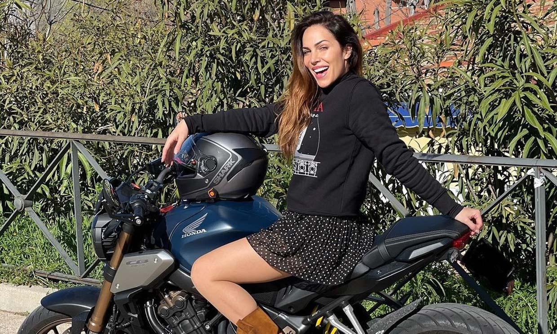 Nerea Garmendia sufre un accidente de moto y muestra sus heridas