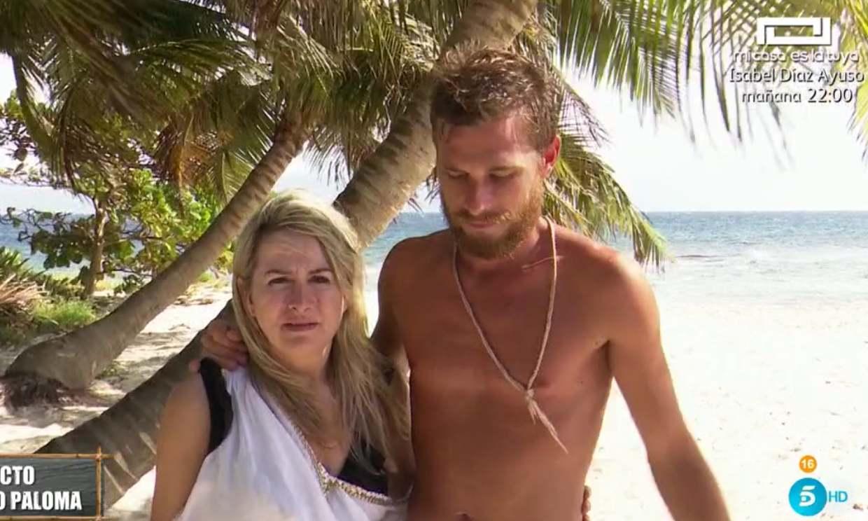 Tom Brusse llora al reencontrarse con la madre de Melyssa Pinto en 'Supervivientes'