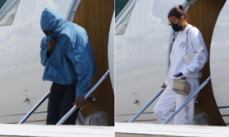 Kanye West e Irina Shayk vuelven juntos a casa y Kim Kardashian reacciona a la noticia