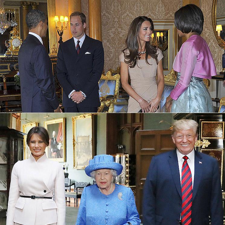 Los Biden ya están en Reino Unido: recordamos los momentos más llamativos de las visitas de los Trump y los Obama