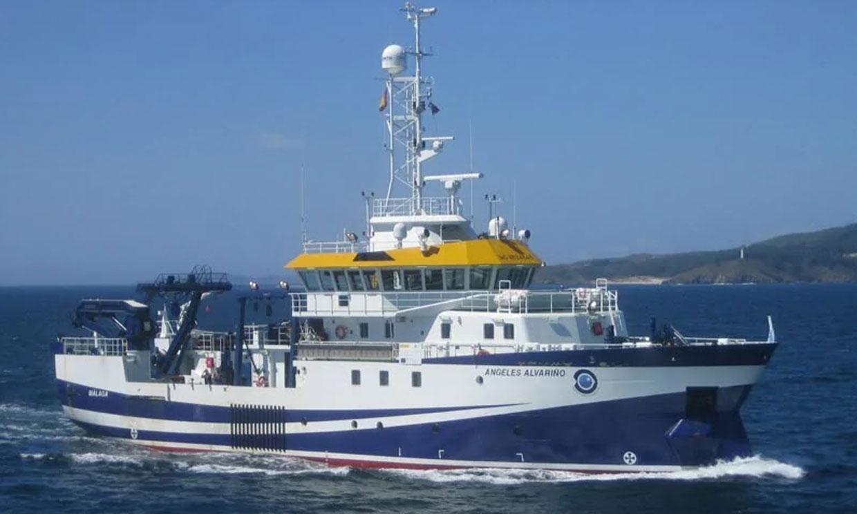Así es cómo trabaja el buque 'Ángeles Alvariño' que ha encontrado a Olivia en aguas de Tenerife
