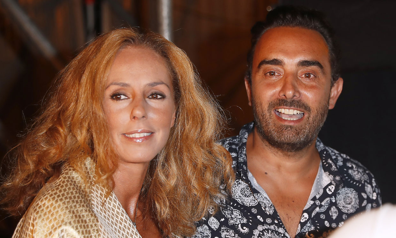 La cena de Rocío Carrasco y Fidel Albiac con sus amigos televisivos para celebrar el éxito del documental