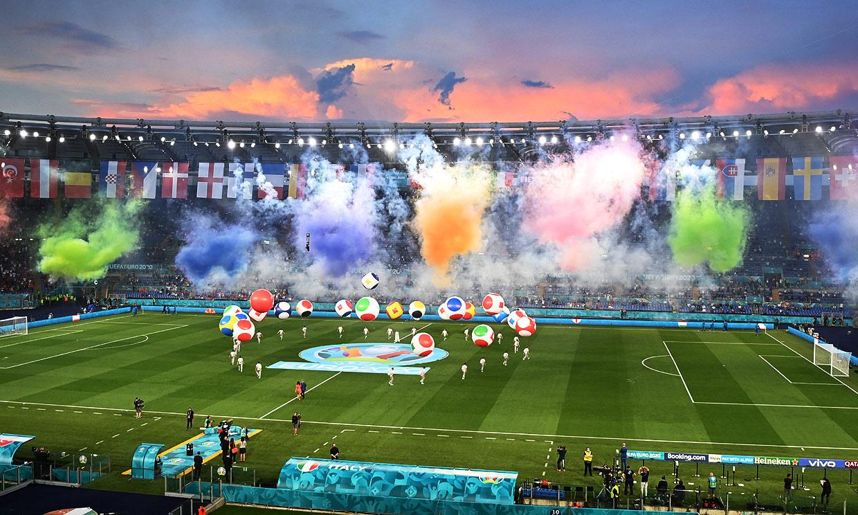 Color, ópera ¡y con público! Las mejores imágenes de la inauguración de la Eurocopa 2020