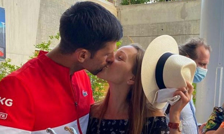 Jelena, el amor adolescente de Novak Djokovic que se ha convertido en su compañera de vida