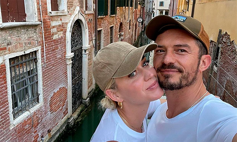 Las fotos más románticas de Orlando Bloom y Katy Perry durante sus vacaciones en Venecia