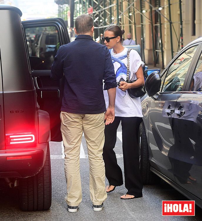 Irina Shayk and Bradley Cooper continue their good harmony after the photos of Kanye West